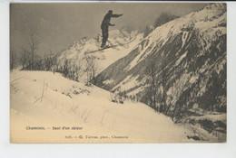 CHAMONIX - Saut D'un Skieur - Chamonix-Mont-Blanc