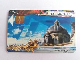 Télécarte F115C - LA COUPOLE ACADEMIE - 50U - SO2 - 1989