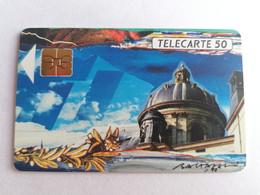 Télécarte F115D - LA COUPOLE ACADEMIE - 50U - SO3 - 1989