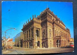 Prag Praha National Theater/ Tram - Czech Republic