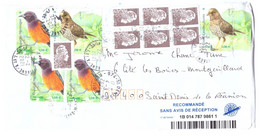 FRANCE 2021 Recommande Birds Grive Oriole Martinique Reunion - 1961-....