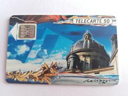 Télécarte F115A - LA COUPOLE ACADEMIE - 50U - SC4an - Dia 7 - 1989