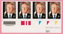 2020 ITALIA Presidente Carlo Azeglio Ciampi  Codice Alfanumerico + Barre - Códigos De Barras