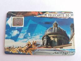 Télécarte F115B - LA COUPOLE ACADEMIE - 50U - SC5an - Dia 7 - 1989