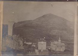 Alpes Maritimes, La Turbie, Righi D Hiver, Construction, Travaux, Echafaudage   (etat Voir Photos)  Dim : 18 X 13. - Places