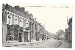CPA 62 - HENIN LIETARD -  LA RENAISSANCE - RUE DE L'ABBAYE (IMPRIMERIE LECAILLE) - Henin-Beaumont