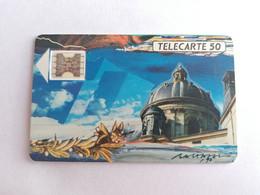 Télécarte F115 - LA COUPOLE ACADEMIE - 50U - SC4ab A/E - Dia 6 - 1989