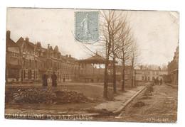 CPA 62 - HENIN LIETARD -  PLACE DE LA REPUBLIQUE (PHOTO) - Henin-Beaumont