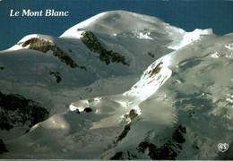 74 LE SOMMET DU MONT BLANC AU LEVER DU JOUR - Chamonix-Mont-Blanc