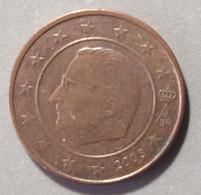 2003  -  BELGIO  - MONETA IN EURO - VALORE  2 CENTESIMI  - CIRCOLANTE - - Belgien