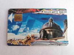 Télécarte F116D - LA COUPOLE ACADEMIE - 120U - SO3 - 1989