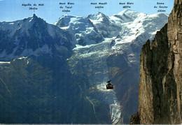 74 CHAMONIX ARRIVEE DU TELEPHERIQUE DU BREVENT - Chamonix-Mont-Blanc