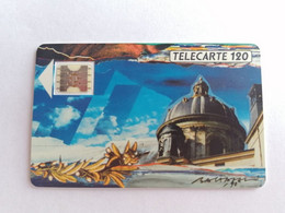 Télécarte F116 - LA COUPOLE ACADEMIE - 120U - SC4ab - Dia 6 - 1989