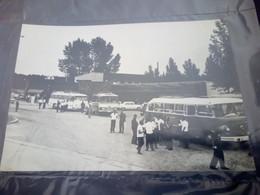 Croatia  Novska Bus Real Photo Postcard--1966 - Photographs