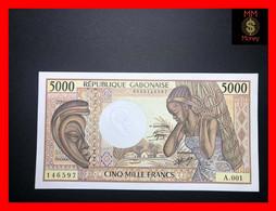 GABON 5.000 5000 Francs 1984 P. 6    AU + - Gabon