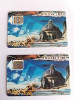 Télécarte F116A - LA COUPOLE ACADEMIE - 120U - SC4an - Dia 7- Lot De 2 Avec Numéro De Série Différent - 1989