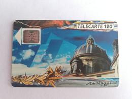Télécarte F116B - LA COUPOLE ACADEMIE - 120U - SC5an - Dia 7 - 1989