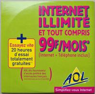 - Pochette CD ROM De Connexion Internet - AOL - - Kit Di Connessione A  Internet