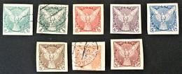 1918-1920  Zeitungsmarken  Sätze Mi. 13-17 + 188-191 - Zeitungsmarken
