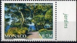 Monaco 2017. St. Saint Martin Gardens. MNH - Unused Stamps