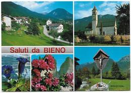 Saluti Da Bieno (Trento). Vedutine. - Trento