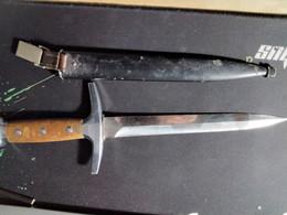 WWII M-1943 Swiss Army Military Officer's Dagger Victoria Schwyz - Knives/Swords