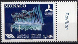 Monaco 2017. EXPO-2017 In Astana, Kazakhstan.  MNH - Unused Stamps