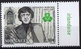 Monaco 2017. Writer Anthony Burgess. Famous People.  MNH - Unused Stamps