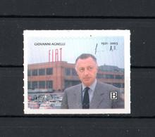 ITALIA  :  Giovanni Agnelli  - 1 Val.  MNH**  Del  12.03.2021 - 2011-...: Neufs