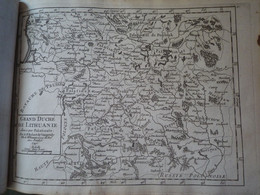 Carte Ancienne Du Grand Duché De Lithuanie (Lituanie) / 1749 - Prints & Engravings