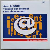 - Pochette CD ROM De Connexion Internet - SNCF - - Kit Di Connessione A  Internet
