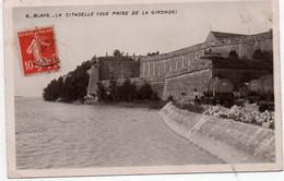 Carte Postale Ancienne - Circulé - Dép. 33 - BLAYE - La Citadelle - Blaye