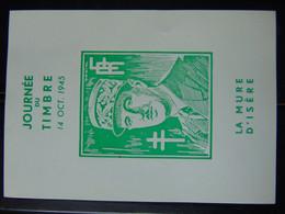 Magnifique Et Très Rare Bloc N°. 13 (numérotation Mayer) En Vert Non Dentelé ** De La Libération De La Mure D'Isère - Liberation