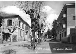 Barzanò Brianza (Lecco). Via Luciano Manara. - Lecco