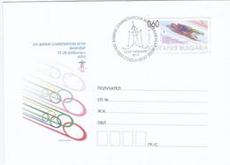Bulgarije 2010, Prepayed Letter, Olympic Games - Sobres