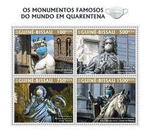GUINEA BISSAU 2020 - N. Copernicus, Monuments In Quarantine. Official Issue [GB200322a] - Astronomùia
