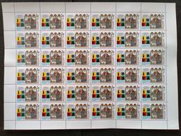 "RUSSIA MNH (**)1999 World Stamp Exhibition ""IBRA '99"" - Nuremberg, Germany - Volledige Vellen"