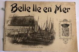 BELLE ILLE EN MER—ARRIVE DES BATEAUX DE PÊCHE CARNET 12 Cartes - Belle Ile En Mer