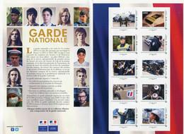 "Collector 2017 ""Garde Nationale - Feuillet De 10 Timbres Autocollants Lettre Verte"" - Collectors"