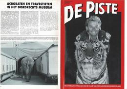 """1995 2 REVUES  """"DE PISTE"""" écrites En Néerlandais Belles Photos Et Bon état. - Unclassified"""