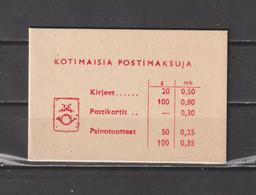 Finland 1972 - Yv. Boekje C537aB(I) Gest./obl./used - Markenheftchen