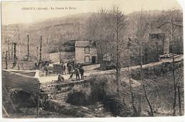 CPA   OUROUX   La Scierie Du Razay - Other Municipalities