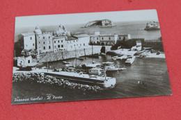 Livorno Pianosa Il Porto 1960 Cartolina N. 14 Associazione Per La Difesa Dell' Isola NV - Livorno