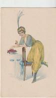 Illustrateur : Art Nouvrau :Femme Et Fruit - Altre Illustrazioni