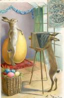 Illustrateur  - œuf Pâques - Lièvre Photographe - Non Classificati