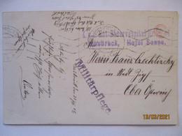 Österreich Not-Reservespital Innsbruck, Hotel Sonne 1915 (65432) - Guerra 1914-18