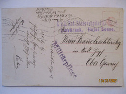Österreich Not-Reservespital Innsbruck, Hotel Sonne 1915 (65432) - War 1914-18