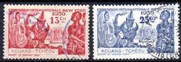 Kouang-Tchéou: Yvert N° 118/119; 2 Valeurs - Usati