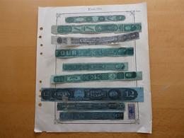 ETATS-UNIS USA  US Classique Revenue Tobacco Tax Stamps  FISCAUX Voir Scan - Sonstige