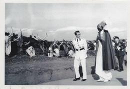 BELGIQUE - POLITIQUE : Le Roi Baudouin En Visite à Kigali (Rwanda) En 1955. CARTE 107 DES ARCHIVES DU SOIR (2005). - Rwanda